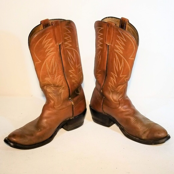 97744c1ef7a Biltrite Heavy Duty Leather Cowboy Boots Size 10 E